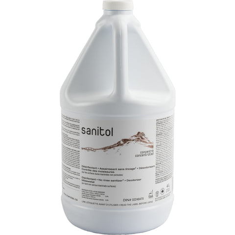 Sanitol No-Rinse Sanitizer Concentrate - 4L