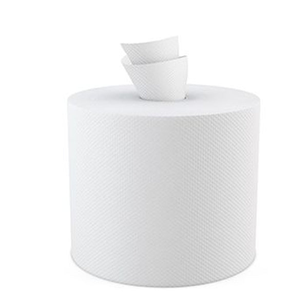 White Center Pull Paper Towel