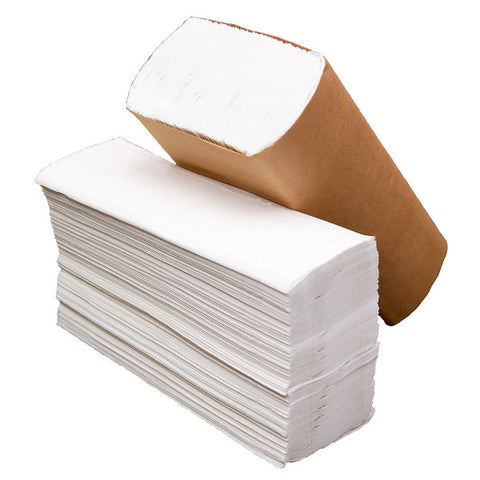 White Multifold Paper Towel