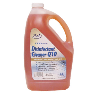 4L Zaal Q10 Disinfectant Cleaner Concentrate
