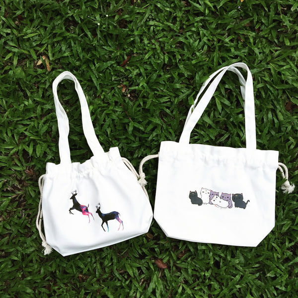 Lunch Bag-White series