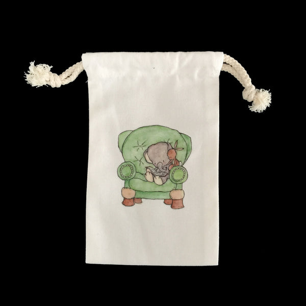 #14 Small Drawstring Pouch