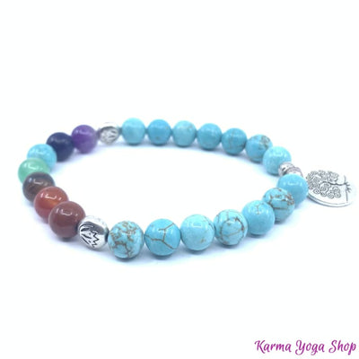 Bracelet 7 Chakras Evolution Positive (Nouvelle Version 2019) Bracelet