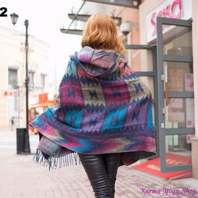 Cape Cardigan Aztec - 4 styles disponibles Cardigan