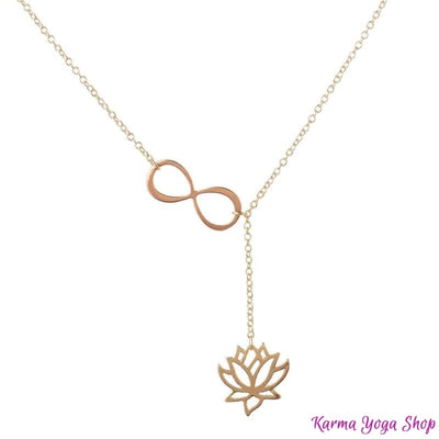 Collier Infini Lotus Or Colliers