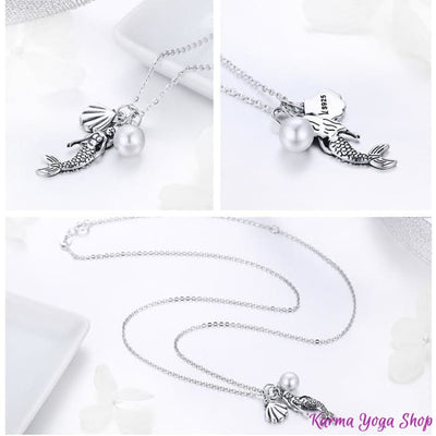 Collier Message de lUnivers en Argent 925 Collier