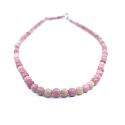 Collier Ras du Cou en Rhodonite Collier