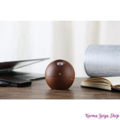 Humidificateur Portable Zen à Ultrason - 4 modèles disponibles Boule Marron Diffuseur