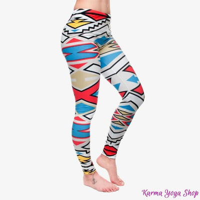 Leggings Fashion - 11 styles disponibles - Taille unique Geometry Leggings