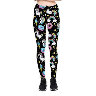 Leggings Licorne - 6 modèles disponibles Beignet / S Leggings