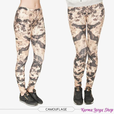 Leggings Nature - 7 styles disponibles - Taille unique Camouflage Legging