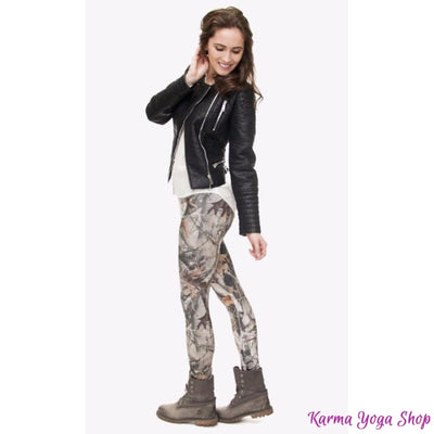 Leggings Nature - 7 styles disponibles - Taille unique Legging