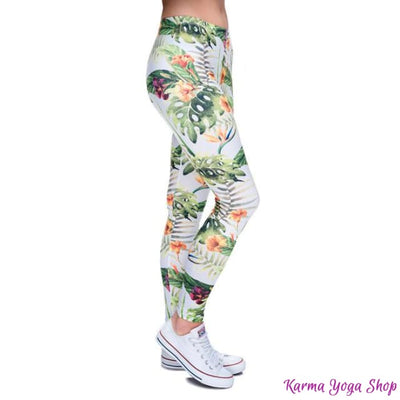 Leggings Nature - 7 styles disponibles - Taille unique Tropical Legging