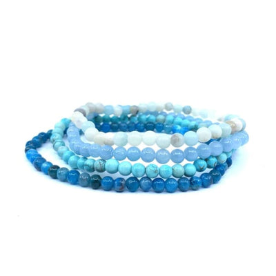 Set de 4 Mini Bracelets Communication Bracelet