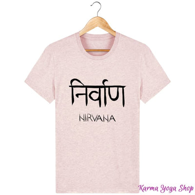 T-Shirt Unisexe Nirvana Cream Heather Pink / XXS T-Shirts