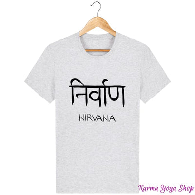 T-Shirt Unisexe Nirvana Heather Ash / XXS T-Shirts