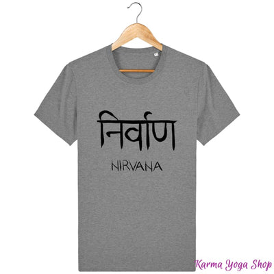 T-Shirt Unisexe Nirvana Mid Heather Grey / XXS T-Shirts