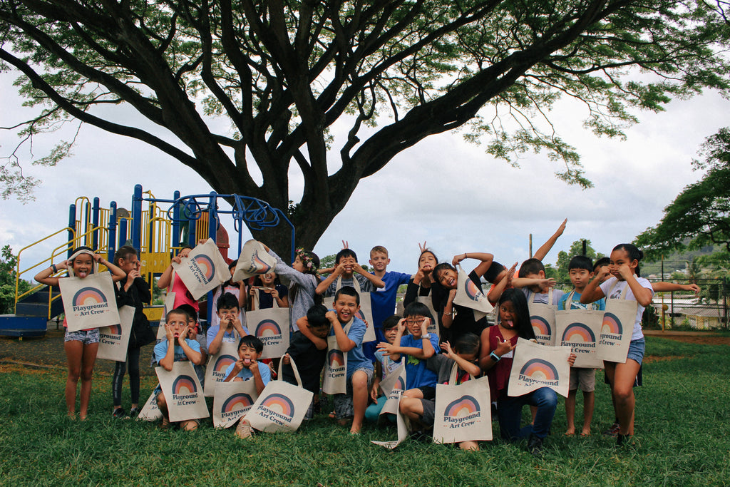 Kaneohe Elementary School Donation, Day One