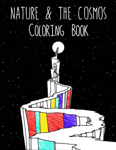 Nature & the Cosmos Coloring Book