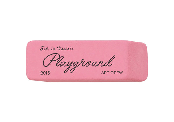 Pink Eraser Sticker