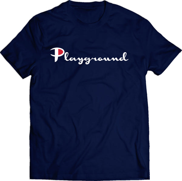 Playground Champs Tee (Navy)