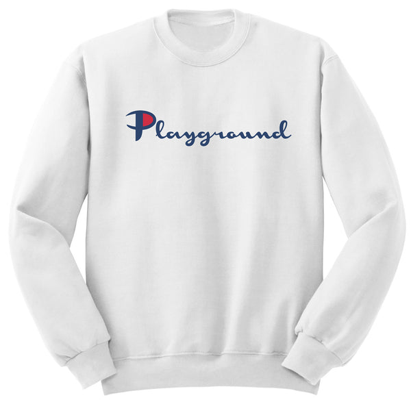 Playground Champs Sweater (White)