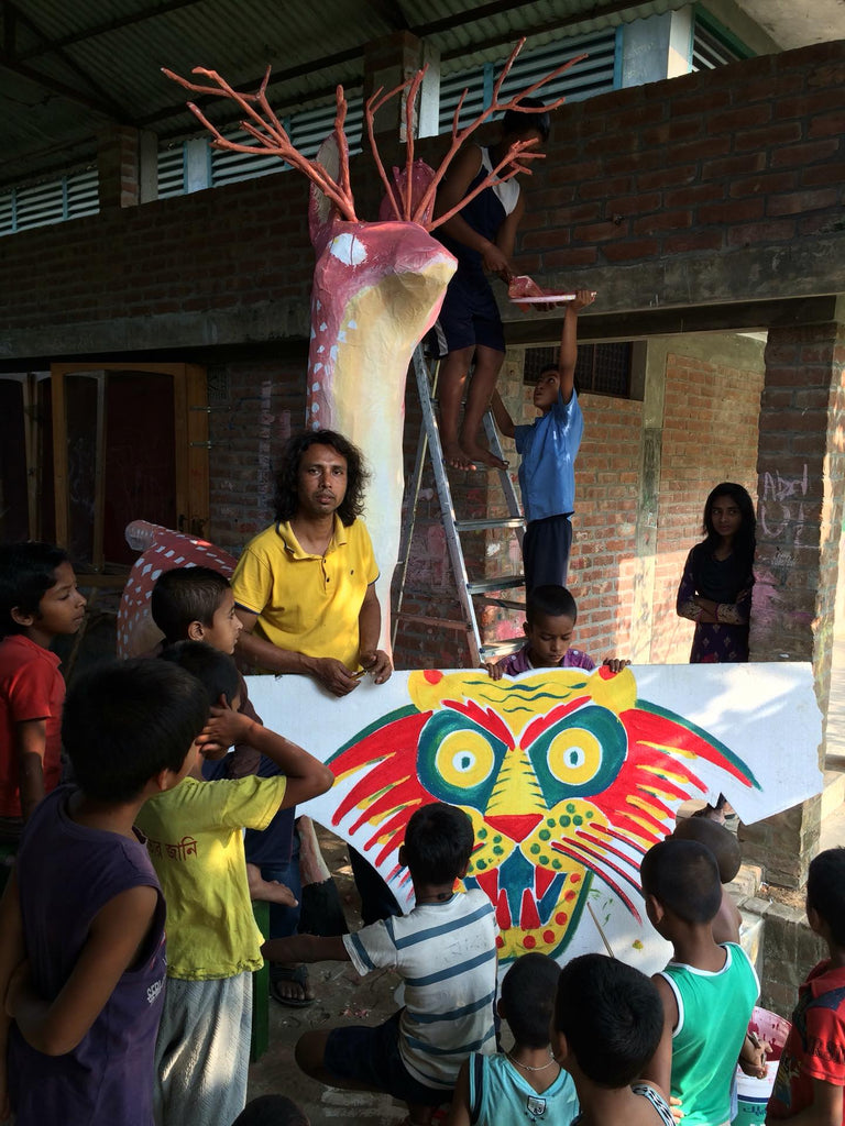 The Preparations of Pohela Boishakh have begun...