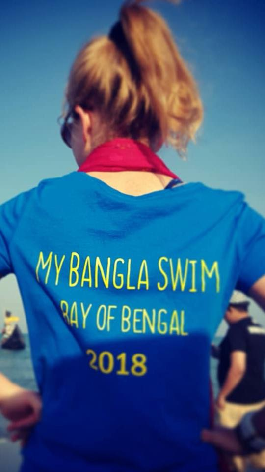 Becky Horsbrugh -The First British Citizen to Cross the Bangla Channel