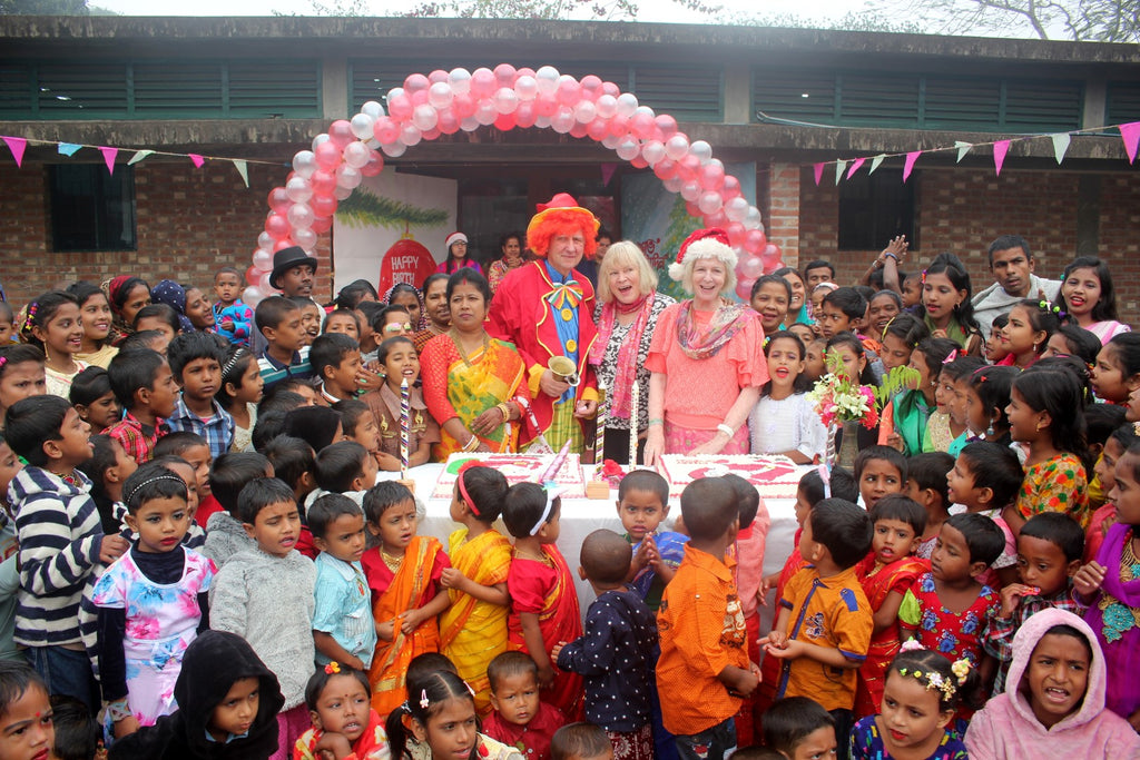 Christmas Day at The Sreepur Village