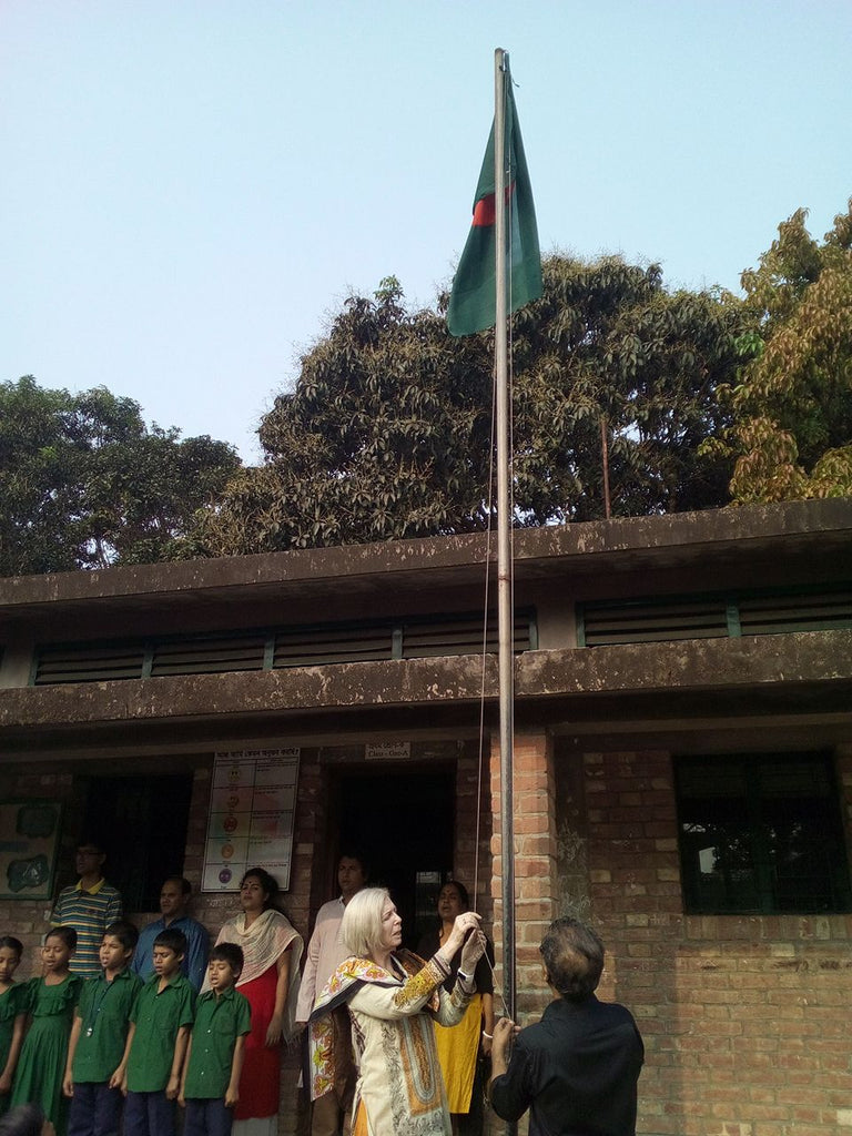 The Sreepur Village Celebrates the 48th Independence Day