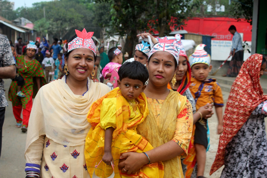 Celebrating Pohela Boishakh