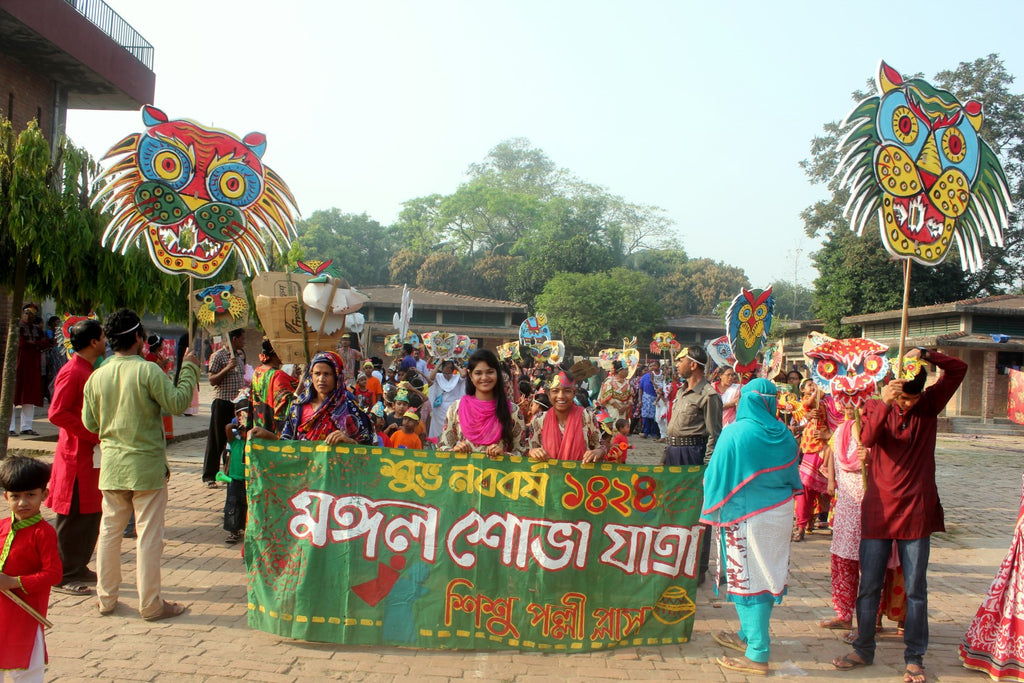 Pohela Boishakh: Colourful Celebration of Bengali New Year at The Sreepur Village