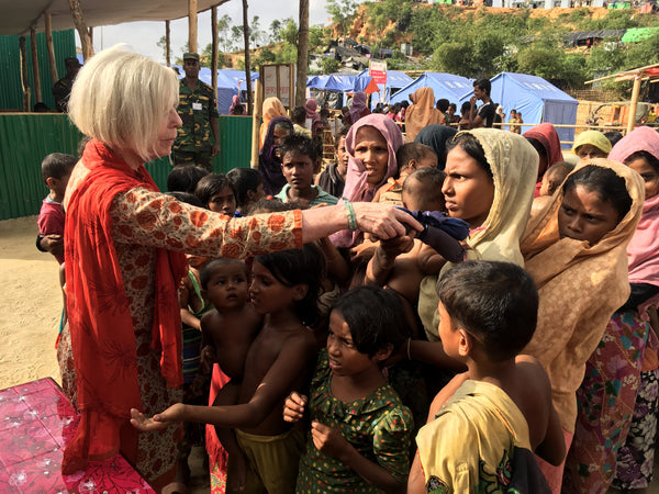 Support for Rohingya Refugees