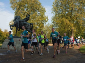 Royal Parks Half Marathon - 9 October 2016