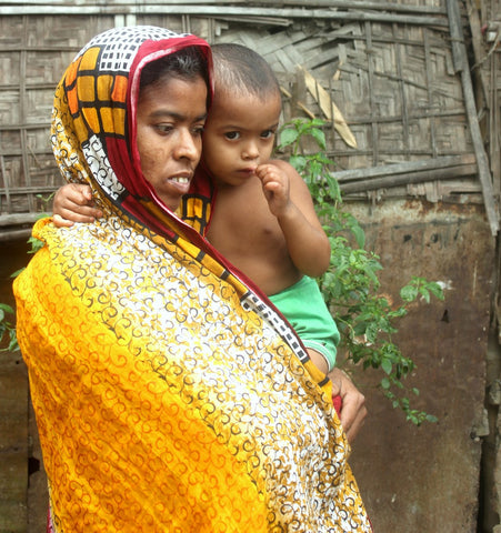 Mother and Child in need The Sreepur Village Bangladesh Charity