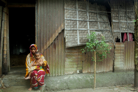 Mother and Children in need of help from The Sreepur Village Bangladesh Charity
