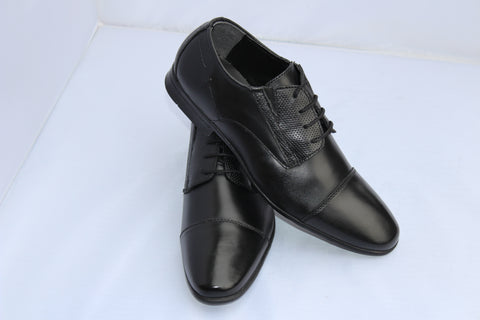 Men Formal Leather Shoes ALEX Oxford Brouge - Lace-up