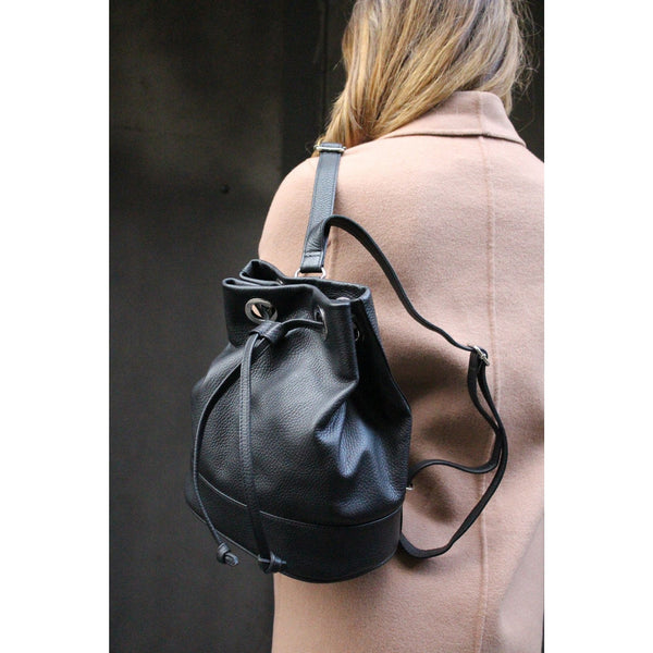Cara Leather Duffel Bag