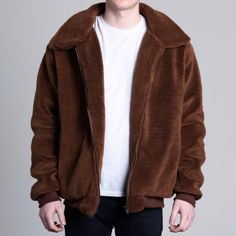 Shearling Brown | Dusk Clothing