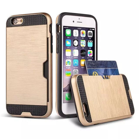 iPhone Card Holder Case - llcbrand