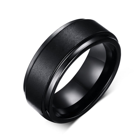 Black on Black Ring - llcbrand
