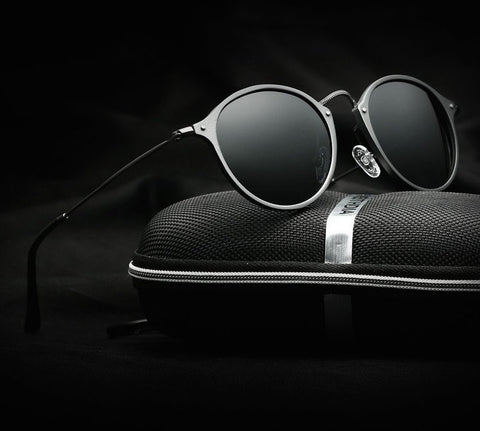 Round Polarized Sunglasses - llcbrand