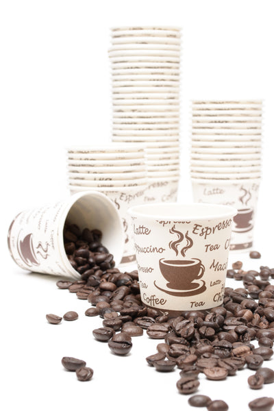 100 x 4 oz Espresso Shot Paper Cups (118 ml)