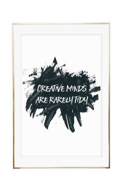 'Creative Minds' Wall Print - Pika & Pookie Designs