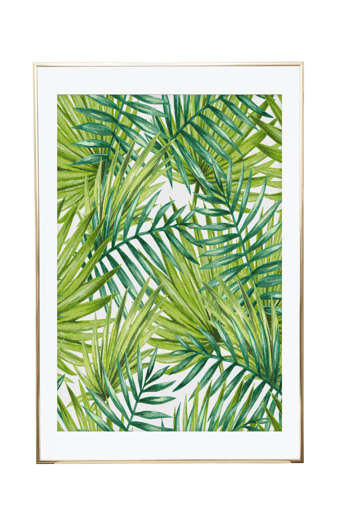 'The Palms' Wall Print - Pika & Pookie Designs