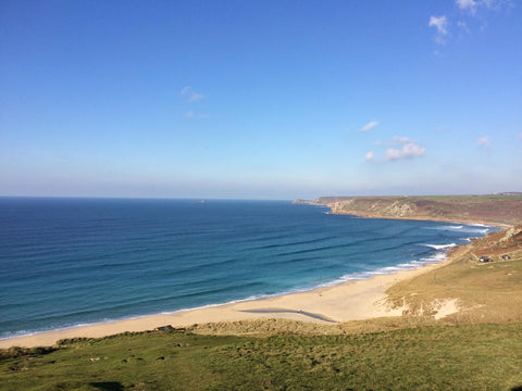 Sennen beach Cornwall