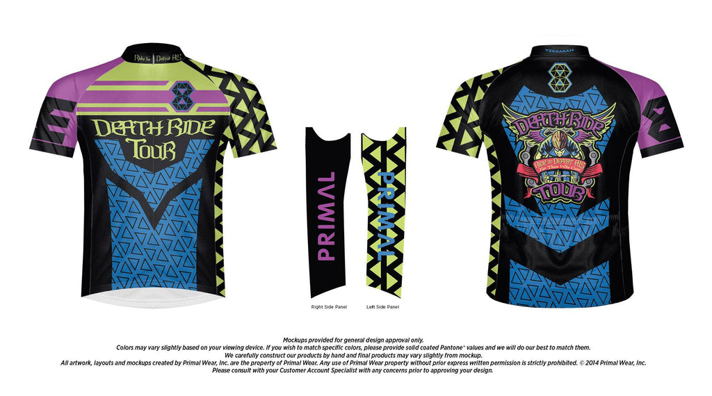 2017 Men's DEATH RIDE Tour 8 Jersey