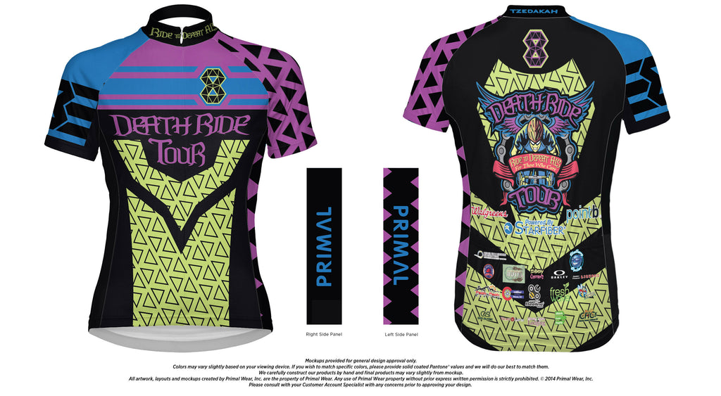 2017 Women's DEATH RIDE Tour 8 Jersey