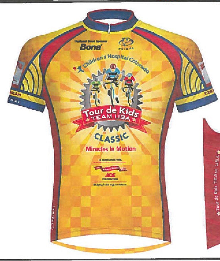 Tour de Kids TEAM USA Cycling Jersey