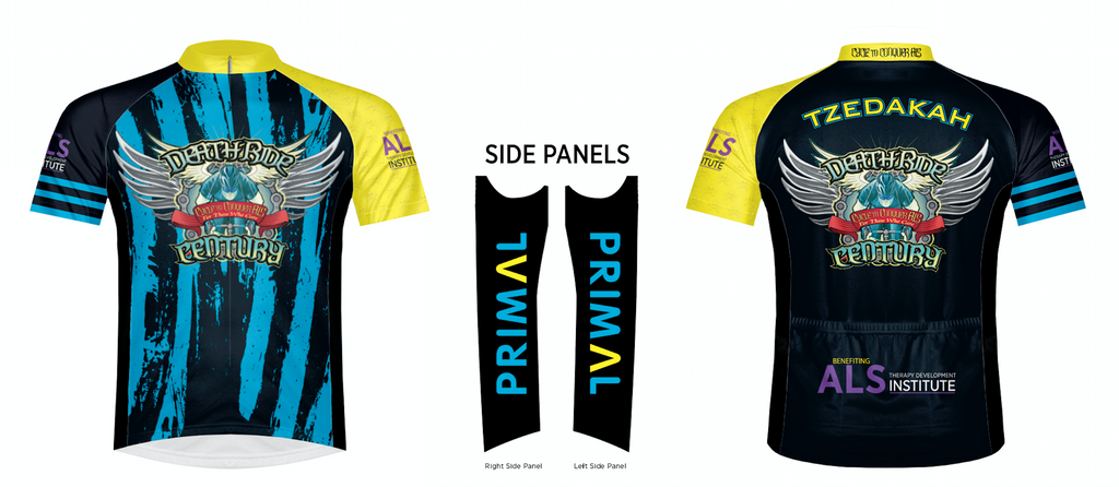 2018 DEATH RIDE Century Evo Jersey from PRIMAL